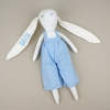 Muñeco My Rabbit Azul personalizado