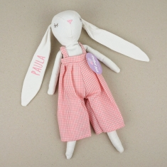 Muñeco My Rabbit Rosa personalizado