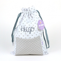 Bag Gray Personalized