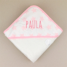 Bathing Coat Mi Pipo Pink Personalized