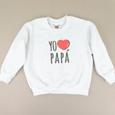 Sudadera Yo corazón Papá