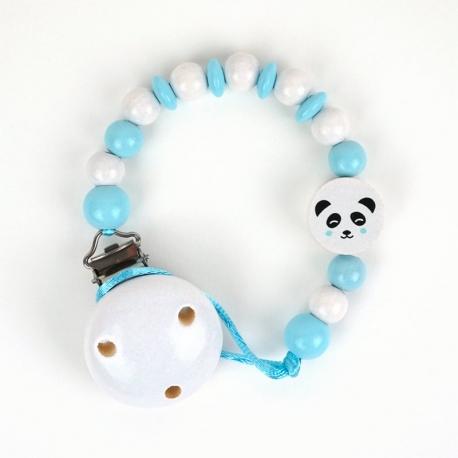 Cadenita de Madera Panda Azul